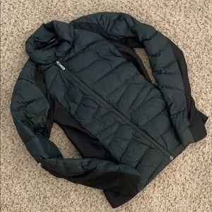 Asymmetrical-Zip Puffer Jacket
